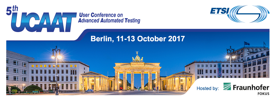 TransWare exhibits at the UCAAT 2017 ETSI User Conference on Advanced Automated Testing