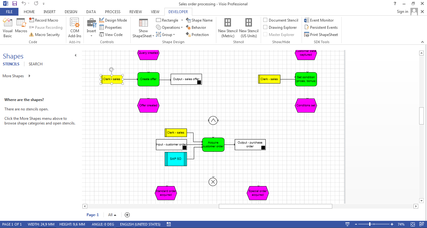 Support to import and export Visio 2013 VSDX file format